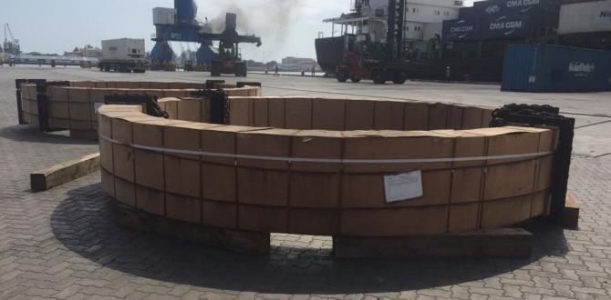 GRUBER Logistics Handle Transport of 2 Kiln Tyres