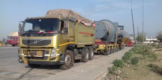 Procam Transports OOG Oil & Gas Cargo Across India