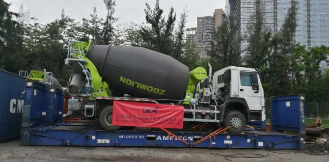 OLA Groups Arrange Shipping of 36 Concrete Mixer Trucks