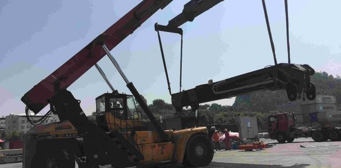 Hannational Handle Transport of Reach Stacker in China