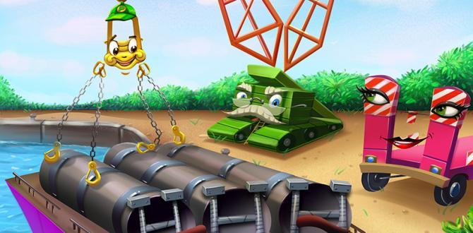 Heavy Team - A Children's Book on Oversized & Heavy Cargo!