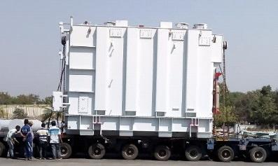 EXG Executes Transport of 3 Transformers in India