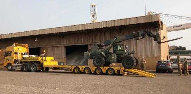 Tera Projects Deliver Army Trucks in Malaysia