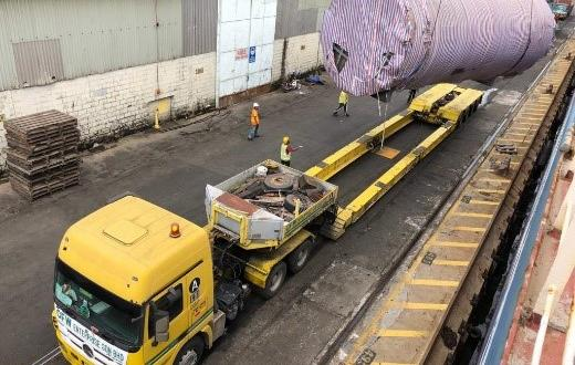 Tera Projects Handle Transport of 35tn Tank in Malaysia