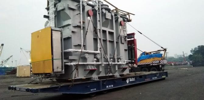 Express Global Logistics, India handles two 125 MVA Transformers at Mumbai Port