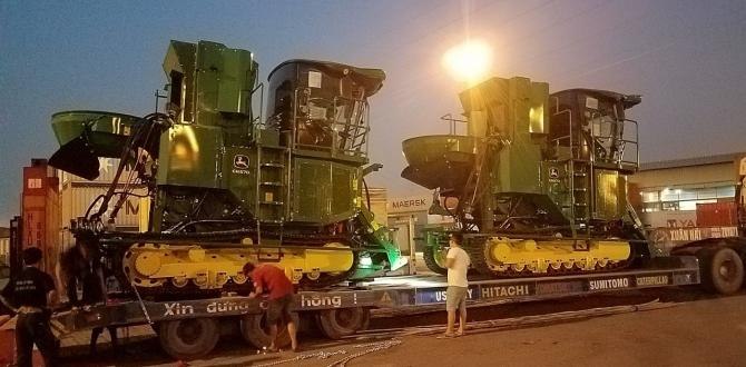 Cuchi Shipping with Transport of Agriculture Machines