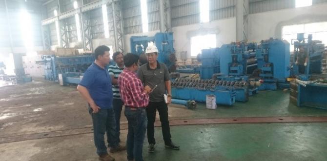 Cuchi Shipping Move Steel Factory