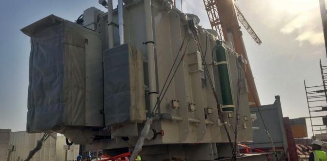 JSL Global with Transportation & Installation of Transformers