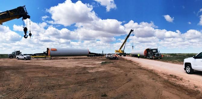 C.H. Robinson Oversee U.S. Wind Farm Deliveries