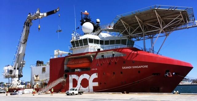 Sadleirs Move Demobilised Vessel from Fremantle to Singapore