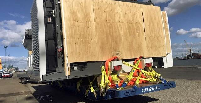Europe Cargo Handle Shipment of Excavator to Fremantle