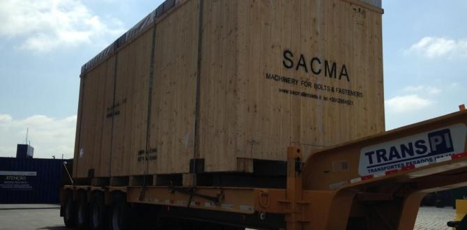 DC Logistics Brasil Handle Project Cargo Shipment from Italy