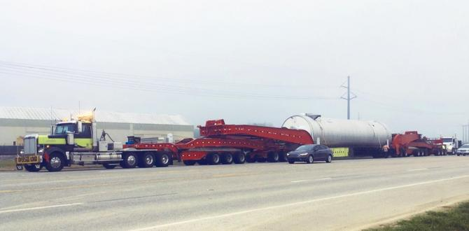 C.H. Robinson Move Very Large Natural Gas Equipment