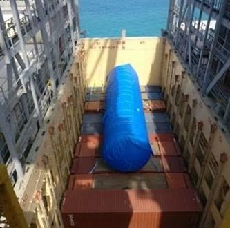 C.H. Robinson & Actanis Project Cargo Arrange Transport of Large Tank