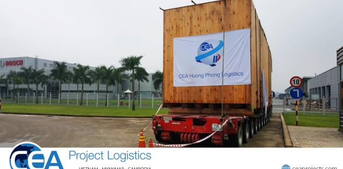 CEA Vietnam Complete Import Project in Conjunction with Gebrüder Weiss