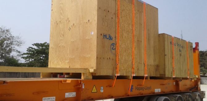 Anker Deliver Power Generator in Colombia for Gebrüder Weiss