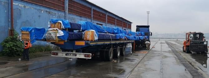 Origin Logistics Share Another Oversized Cargo Delivery