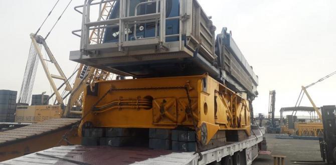Polaris & Goodrich with Shipment of Crawler Cranes
