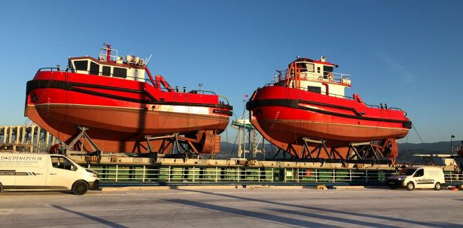 Element International & Glogos Arrange Shipment of Tug Boats