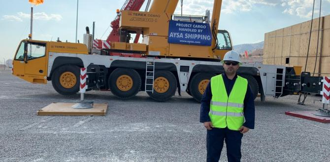 Aysa Shipping Move OOG Oil & Gas Cargo by Consolidation