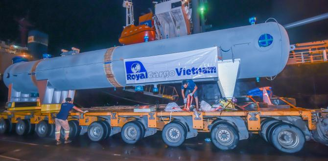 Royal Cargo Complete Important Project in North Vietnam