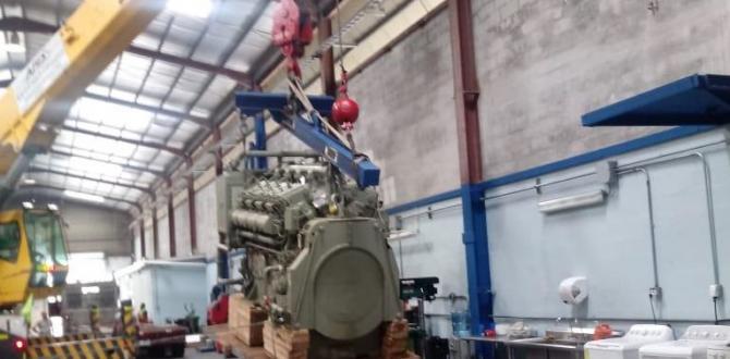 Upcargo Handle Multimodal Transport of Ignition Motor