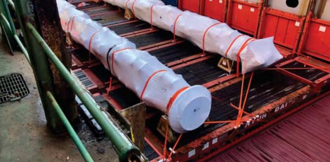 Gebrüder Weiss Complete Shipment of 20m Transmission Shafts