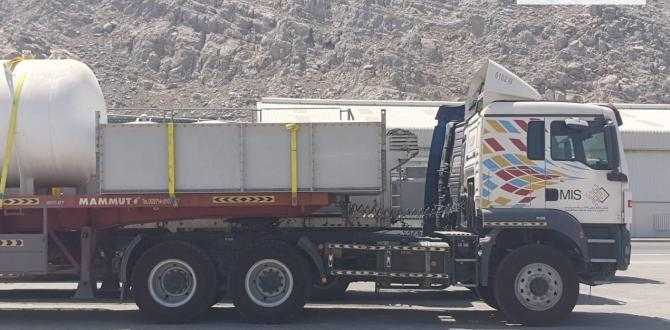 MIS with Transportation of Wartzila Engine in Oman