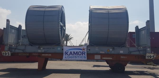 Kamor Logistics Delivers First Lot of High Voltage Cable Drums