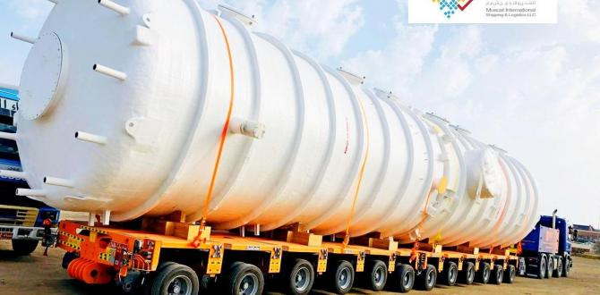 MIS Handle Successful Transport & Shipping of Large Tanks