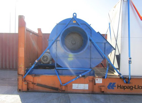 Canaan & Actanis with Project Shipment from Spain to Canada