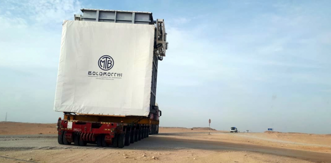 Khimji Ramdas Manages Haulage of Diverter Damper in Oman