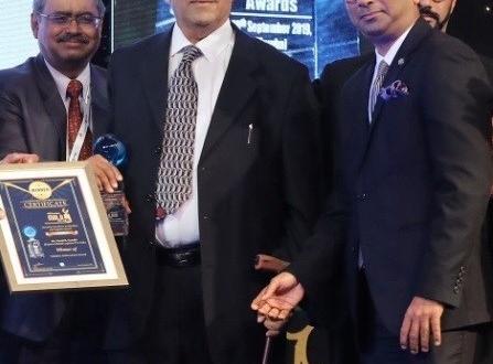 Mr. Vinod Gandhi of EXG in India Honoured at Maritime & Logistics Awards 2019