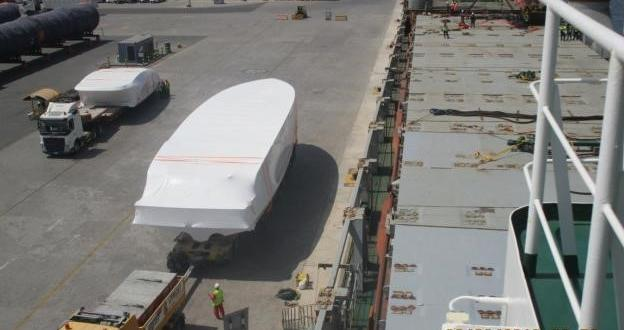 Wilhelmsen UAE Handle FRP Shipment to Bangladesh
