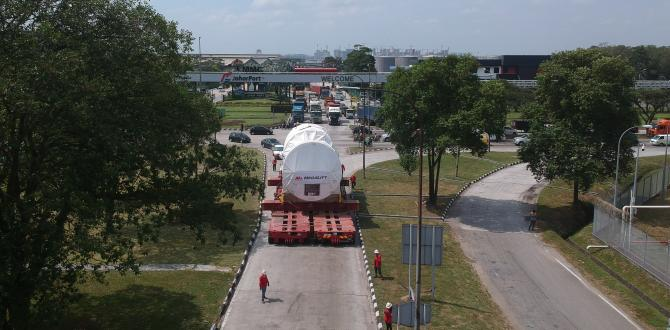 Megalift Report Successful Transportation of 2 Gas Turbines