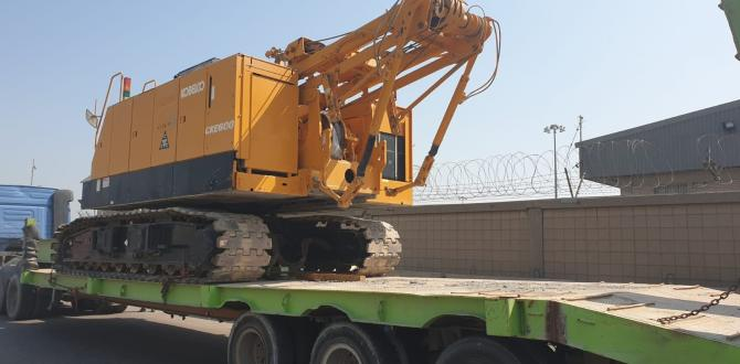 Al Bader Shipping Expertly Handles 3 Crawler Cranes
