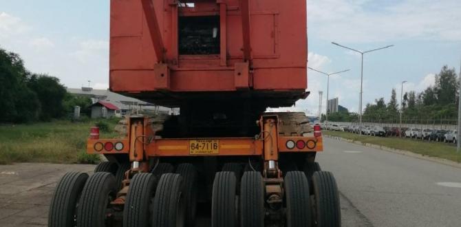 Global Power with Shipping of Crawler Crane for Cuchi Shipping
