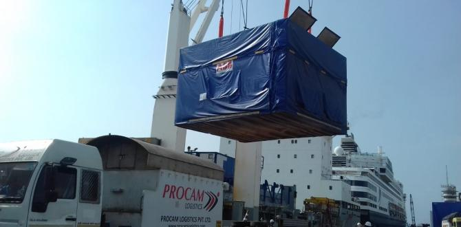 Procam Logistics Moves 12 Units of 70.6tn Stators & Rotors