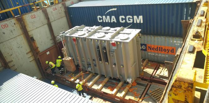 C Logistics Solutions with Discharge of Transformer & Equipment