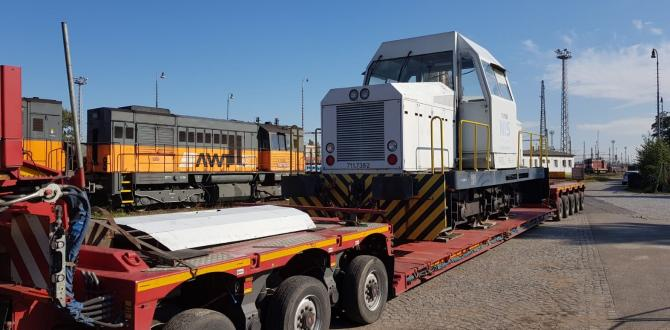 Livo Logistics Executes Road Transportation of Diesel Locomotive