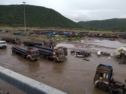 Eversail Logistics Handling Steel Billets in China