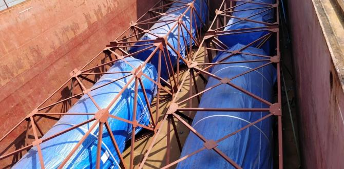 EXG Completes Breakbulk Shipment of 12 Exhaust Silencers