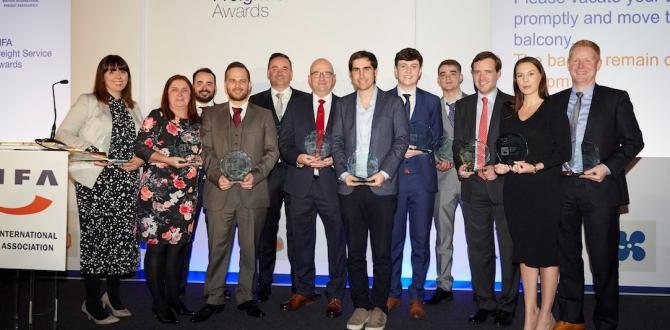 Brunel are Winners of the 'Extra Mile' Category at the BIFA Freight Service Awards!
