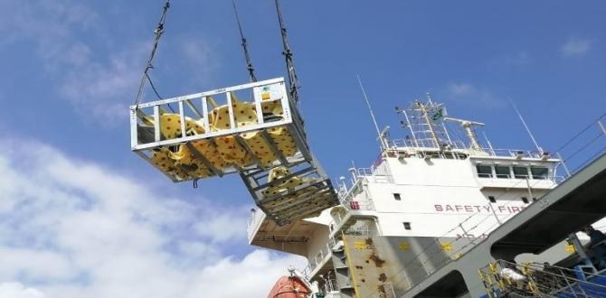 Star Shipping Pakistan Deliver 4,400frt Breakbulk Shipment