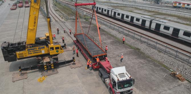 Megalift Deliver for MRT Railway Project in Malaysia