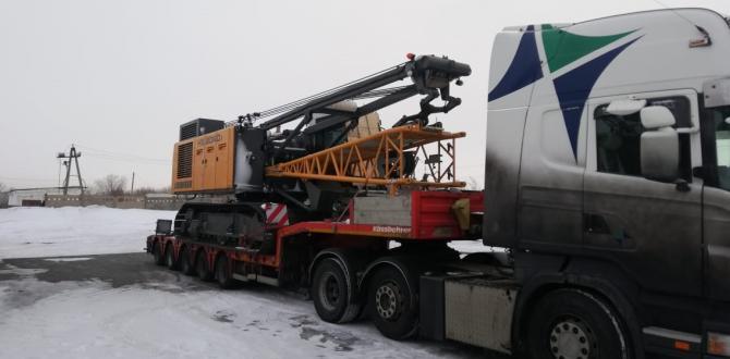 Goodrich Moves Liebherr Crane from Austria to Kazakhstan