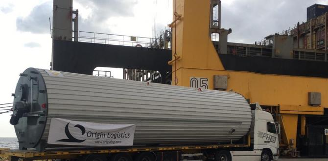 Origin Logistics Handle Oversized Tanks from Turkey to Qatar
