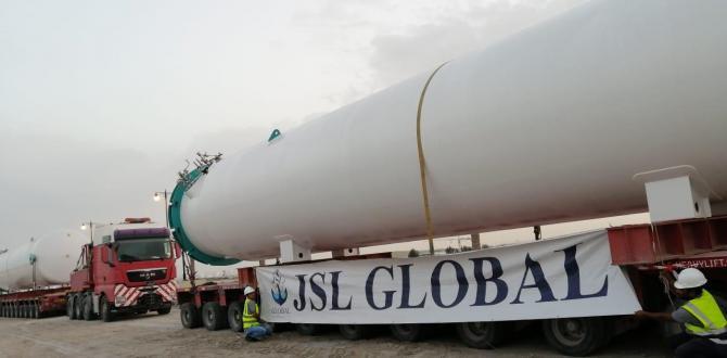 JSL Global Delivers CO2 Tanks in Qatar