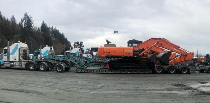 C.H. Robinson & Livo Logistics Deliver Construction Equipment