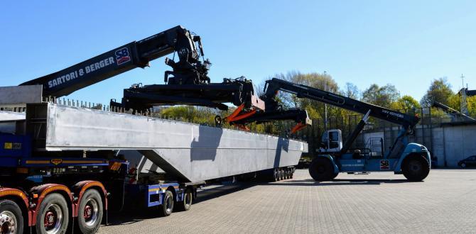 Gebrüder Weiss Handles Delivery of Huge Steel Bridge
